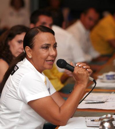 CAMPAÑAS: Recibe Graciela Saldaña el apoyo de desarrolladores inmobiliarios en Cancún