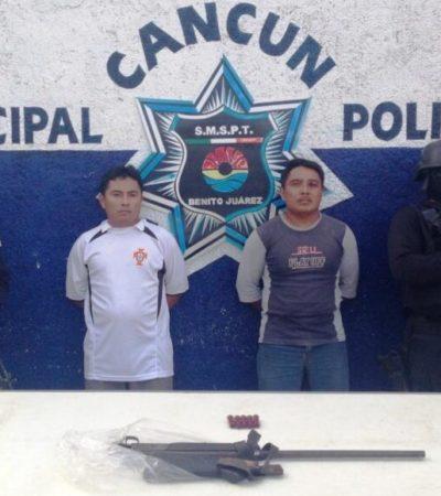 Detienen a presuntos homicidas de mecánico en la colonia irregular México