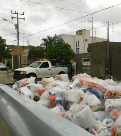 Arrestan a 2 guardaespaldas de la Dirección de Gobierno de Borge por obstaculizar entrega de despensas en Cancún