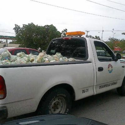 Acusa PRI que Ayuntamiento de Julián Ricalde reparte despensas en veda electoral en Cancún