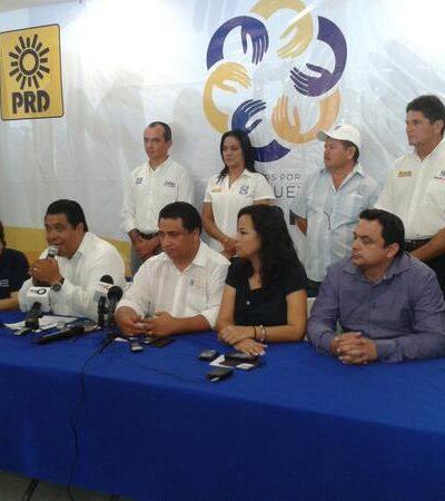 """CAMPAÑAS: Confían PAN-PRD en ganar 'nueva mayoría' pese a prácticas """"cochinas y tramposas del PRI"""""""