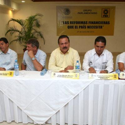 CAMPAÑAS: Propone PRD en Cancún reformas para impulsar el desarrollo