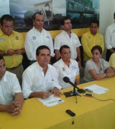 Denuncian candidatos de la alianza PRD-PAN 'terrorismo político' del Gobierno de Borge para evitar derrota en las urnas