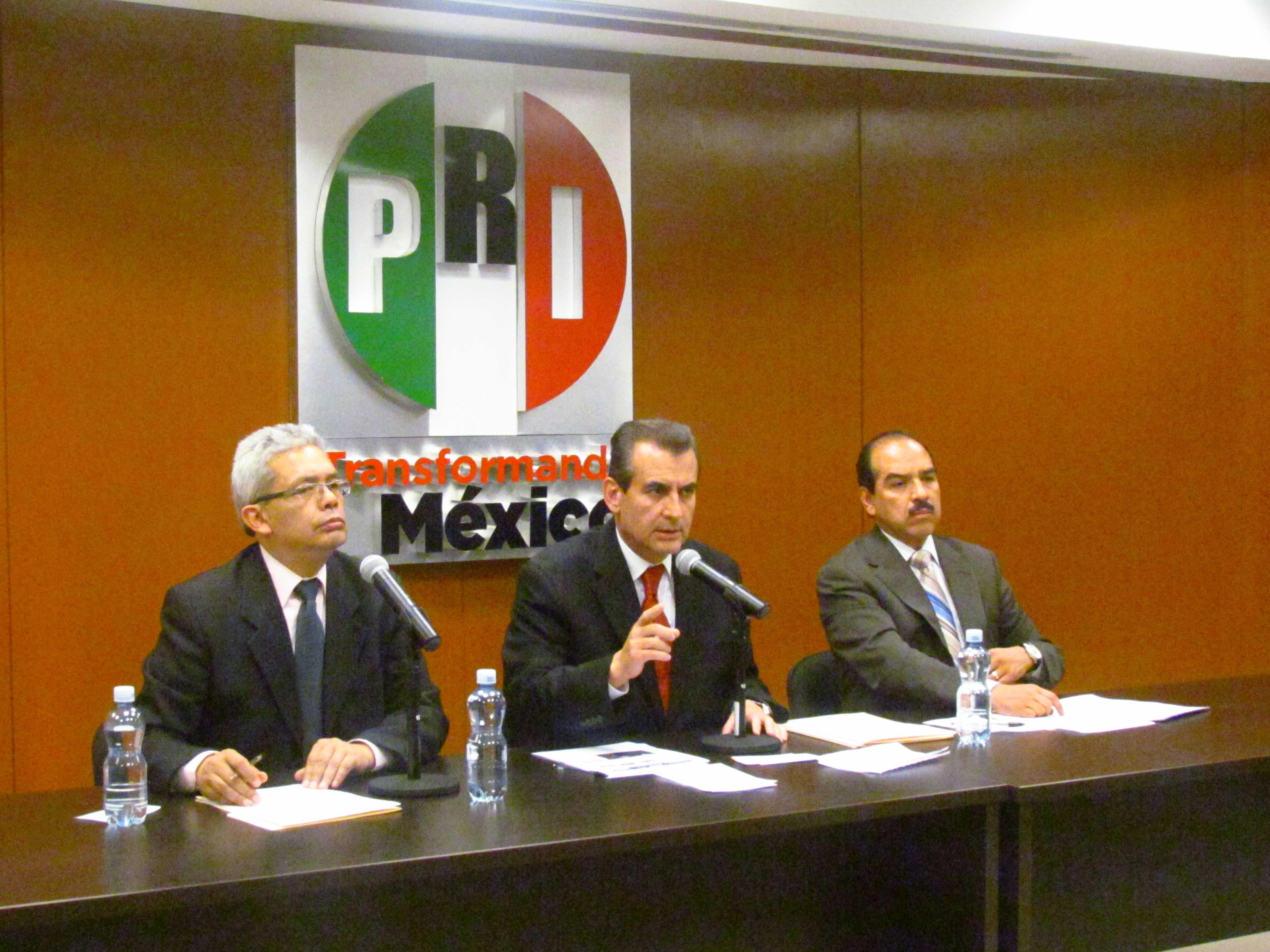 Denuncia PRI desvío de recursos de gobiernos municipales para favorecer a candidatos del PAN y PRD