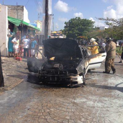 SIGUE LA VIOLENCIA ELECTORAL: Incendian en Cancún auto de ex regidora y ex diputada federal suplente del PRD