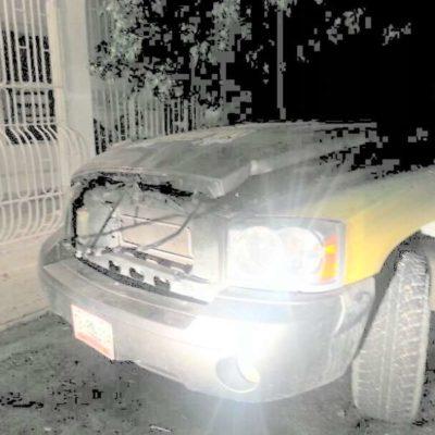 ABIERTO 'TERRORISMO ELECTORAL': Incendian otro vehículo en Chetumal de candidato a diputado por el PRD