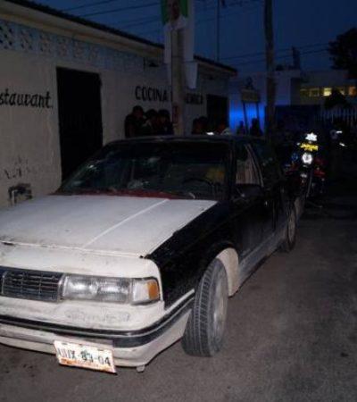 Intentan ejecutar a un mecánico en la Región 235: recibe 4 balazos
