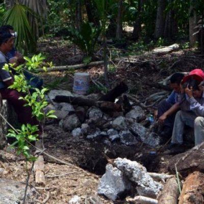 Hallan asesinado en el interior de un cenote a comerciante desaparecido en Nuevo Xcan