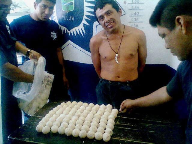 Detienen a depredador de huevos de tortuga en la zona de Tan-Kah