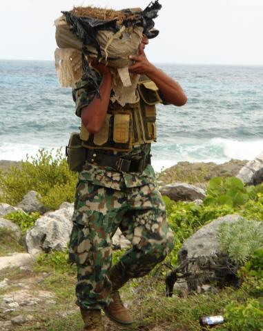 Recalan paquetes con marihuana en Cozumel