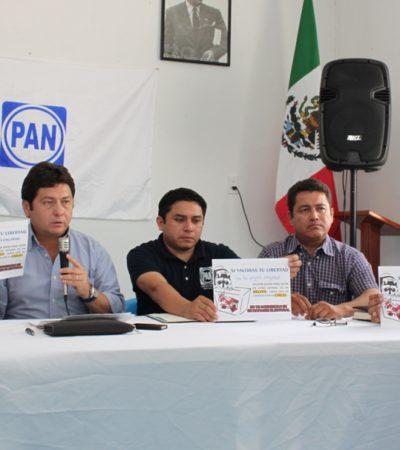 VAN TRAS LOS 'MAPACHES' DEL PRI: Advierte PAN en Valladolid que yucatecos que acudan a votar a QR podrían terminar en la cárcel