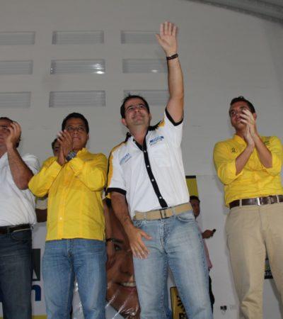 CAMPAÑAS: Pide Zambrano votar por la nueva mayoría en QR; el cambio, en manos de la gente: Jorge Aguilar