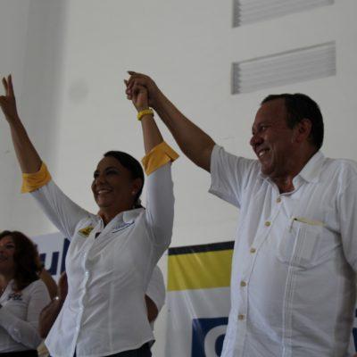 CAMPAÑAS: Respalda Zambrano a Graciela Saldaña para ganar Cancún
