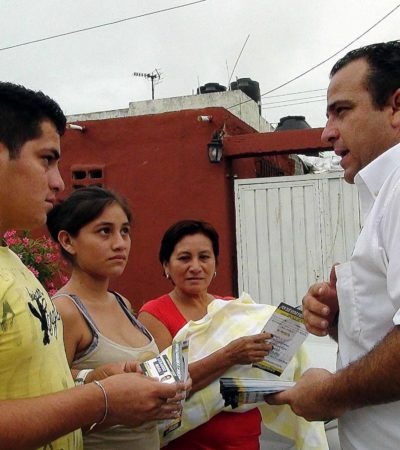 CAMPAÑAS: Se compromete Gerardo Mora a vigilar el buen uso de presupuesto