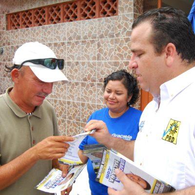 CAMPAÑAS: Propone Mora frenar aumento a las tarifas del agua