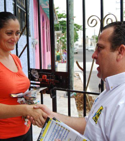 CAMPAÑAS: Gerardo Mora va por más ingresos federales para Cancún