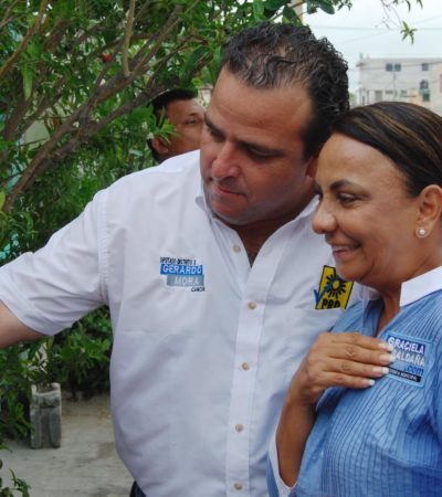 CAMPAÑAS: Exigir obra pública de primera, compromiso de Gerardo Mora