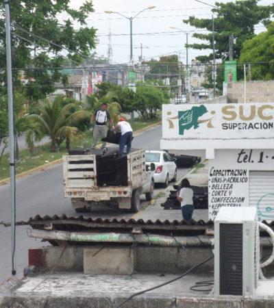 SIGUE TRASIEGO DE 'APOYOS' ELECTORALES: Descubren a 'mapaches' políticos del PRI en la Región 102 de Cancún