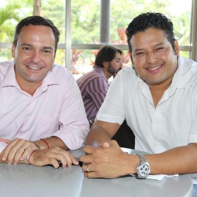 Se reunen Paul Carrillo y Alex Luna y dilapidan elogios mutuos