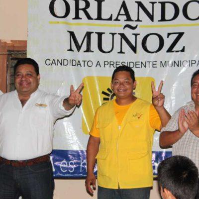CAMPAÑAS: Dejará Solidaridad de ser la 'caja chica' de gobiernos priista, advierte Orlando Muñoz