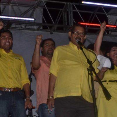 """CAMPAÑAS: """"Es tiempo del cambio"""", anuncia Armando Ventre al cerrar campaña ante miles en Tulum"""