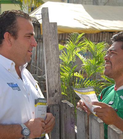 CAMPAÑAS: Ganaremos porque la gente sabe qué le conviene: Gerardo Mora