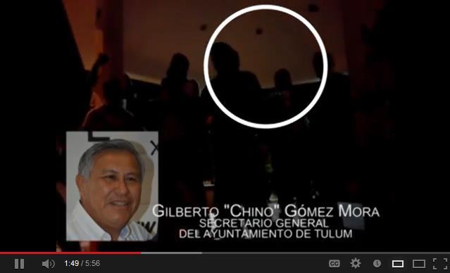 HUNDEN AL 'CHINO' GÓMEZ MORA: Revelan otro video de Secretario del Ayuntamiento de Tulum en abierto proselitismo a favor del PRI con taxistas