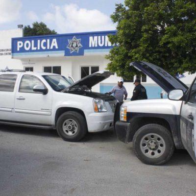 """Se la pasa Bibiano Villa """"rescatando"""" a detenidos por presuntos delitos electorales… hasta que se le descompone su camioneta"""