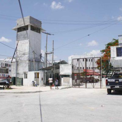 OPERATIVO EN LA CÁRCEL: Decomisan puntas y drogas en Cancún