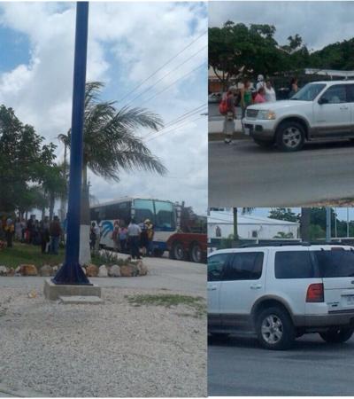 LLEGA EL 'TURISMO ELECTORAL': Confirman arribo a Cancún de 50 camiones con votantes procedentes de 14 municipios de Yucatán