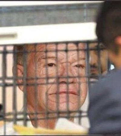 Andrés Granier, ex gobernador de Tabasco en prisión