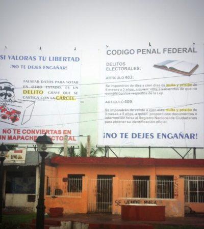 OPERACIÓN 'PRIMAVERA': Advierten de riesgos de terminar en la cárcel a yucatecos que participen en el 'turismo electoral' hacia QR