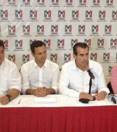 Se proclama PRI ganador en comicios en QR: Va arriba en 9 municipios y en 15 diputaciones, asegura; Cancún sería para Paul Carrillo