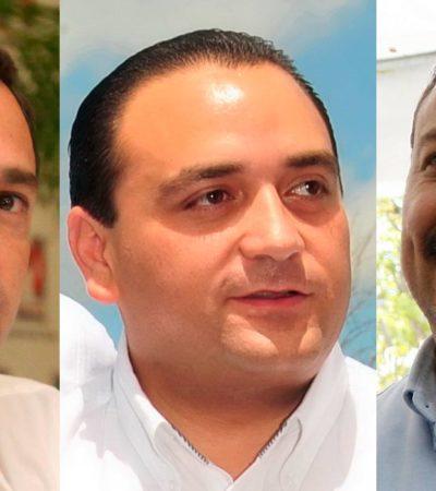 TRANSICIÓN DESDE EL PALCO VIP: Con el auspicio de Borge, sostienen Julián Ricalde y Paul Carrillo primer encuentro en el juego de los Tigres
