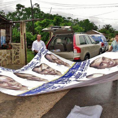 NUEVO REVÉS AL TEQROO: Revoca TEPJF sentencia que ordenaba bajar 'propaganda bicolor' de la alianza de facto PRD-PAN en QR