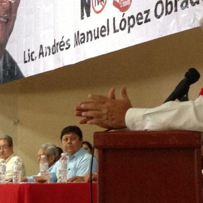 Acusa AMLO a Peña Nieto de no garantizar limpieza y libertad en comicios del 7 de julio