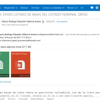 OPERACIÓN PRIMAVERA: Publican correos que prueban el intento de fraude con el 'turismo electoral' hacia QR