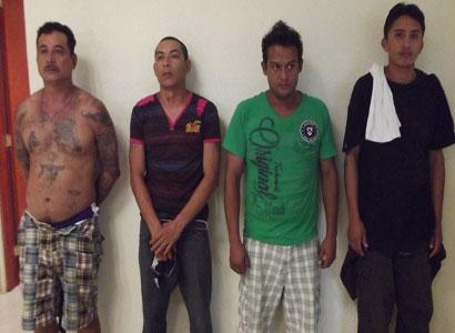 Capturan a 4 narcomenudistas en Playa con marihuana y cocaína