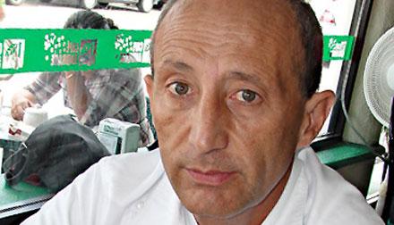 El sacerdote Pablo Pérez.
