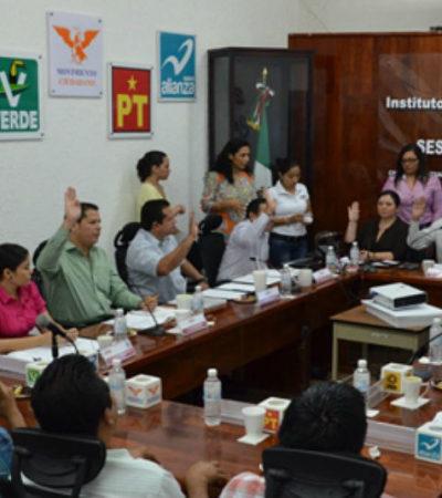 REPARTEN REGIDURÍAS PLURINOMINALES: Define Ieqroo conformación de los nuevos Cabildos de QR con la cuota para la oposición