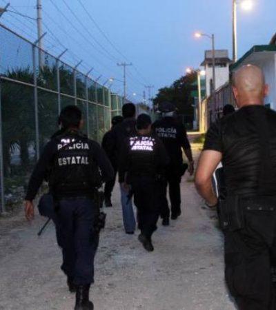Tan sencillo como saltar una barda, se fuga reo de la cárcel de Cancún