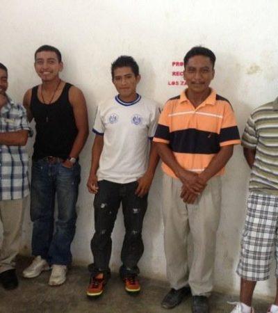 Se entregan guatemaltecos al INM en Cancún y los mandan en autobús a Chetumal