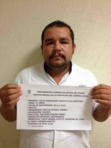 Capturan en Playa a 9 presuntos narco-taxistas al servicio de 'Los Zetas'