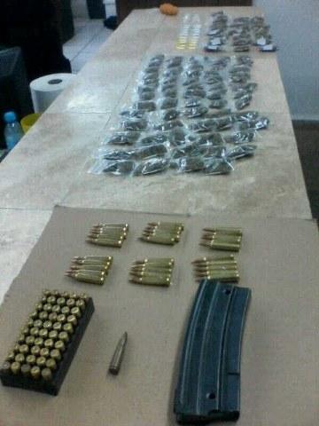 Incautan droga y cartuchos en una vivienda de Bonfil; no hay detenidos