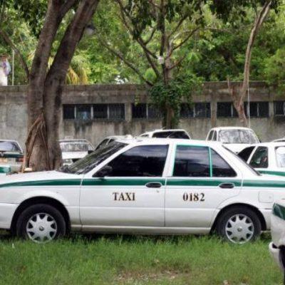 Resguardan unidad de taxista ejecutado; habría otros choferes desaparecidos