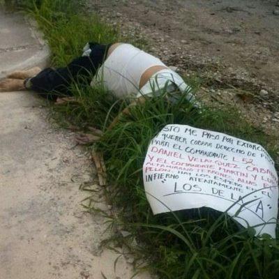 Taxista ejecutado en Cancún murió por asfixia, confirman
