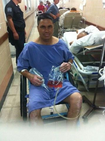 Escapa delincuente cuando recibía atención médica en hospital 'Jesús Kumate'