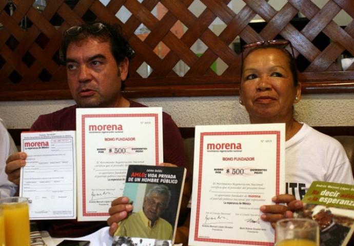 Inicia Morena campaña para financiarse  en QR