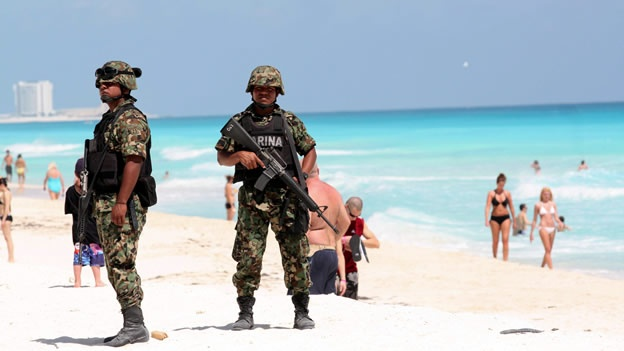 """INSEGURIDAD, """"EN CUALQUIER PARTE"""": Emite EU nueva alerta de viaje por la violencia del narcotráfico en México"""