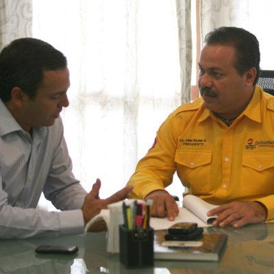 TRANSICIÓN EN CANCÚN: Dan Julián Ricalde y Paul Carrillo los primeros pasos para el cambio de Gobierno